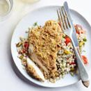 <p>Barley and pistachios give this healthy chicken recipe a double dose of nutty flavor. For an easy change-up, swap in your favorite whole grain, such as brown rice, farro or quinoa.</p>