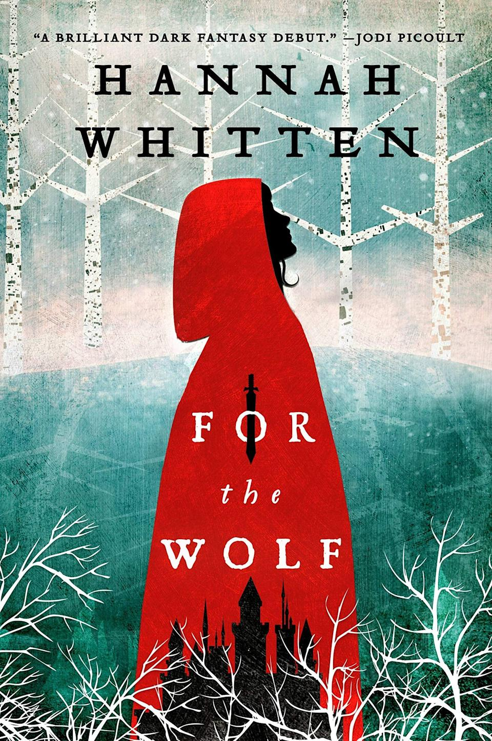<p>Hannah Whitten weaves a wonderfully eerie dark fantasy tale in <span><strong>For the Wolf</strong></span>. As the first second daughter born in centuries, Red's only purpose in life is to be sacrificed to the Wolf in exchange for him freeing her community's gods. But something strange happens when she's left in the Wilderwood: Red discovers the Wolf is just a normal man, and it's up to her to save the world. </p> <p><em>Out June 1</em></p>