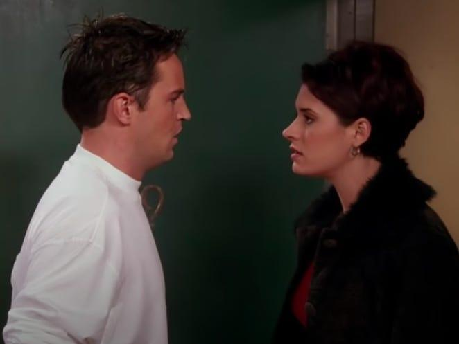 chandler and kathy on friends