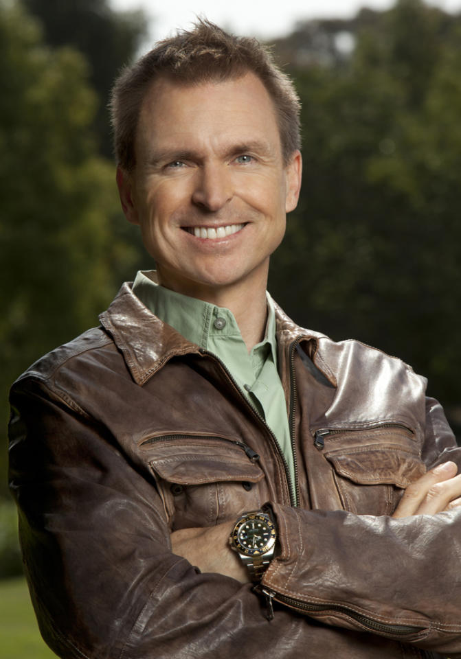 """Emmy Award nominee Phil Keoghan, host of Season 21 of """"The Amazing Race,"""" premiering Sunday, 9/30 at 8 PM on CBS."""