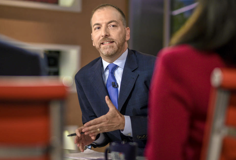 "<p>NBC News' Political Director, who is hosting the network's special ""Decision 2020"" election coverage with Lester Holt, Savannah Guthrie, Chuck Todd and Andrea Mitchell, has a ritual for getting into the right headspace to cover Election Day: taking time for himself the day before, and listening to his ""election eve/morning anthems.""</p> <p>""I do try to drown out outside noise in the last 12 hours before the marathon begins, Todd, 48, tells PEOPLE. ""I play two songs frequently to get me in the mood, usually alternating. The first song is 'One Day More' from <i>Les Misérables</i>, the lyrics evoke many themes you hear a lot these days. After that high-minded way of setting the tone for me, I then blast the Ramones' 'I Wanna Be Sedated,'"" he says, adding, ""This song is emblematic of our collective exhaustion of covering this campaign!""</p> <p>With regards to election-night coverage, the <i>Meet the Press</i> moderator says that the network has ""made a ton of what I call 'transparency' adjustments so that the viewers have all the tools they need to understand how much vote is left to be counted, and how long it will take to count that vote.""</p> <p>That added time usually requires the occasional sugar boost for Todd. While adrenaline plays a big part in keeping him awake, the anchor shares that ""gummy bears are probably my secret. It's the only time I even have a taste for them, at the election night desk. The sugar high must help.""</p>"