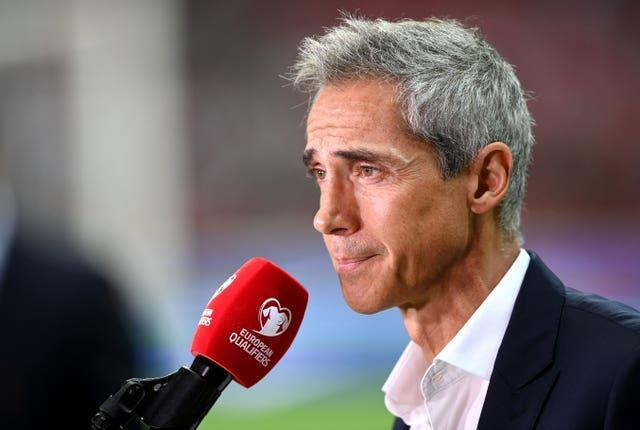 Poland manager Paulo Sousa oversaw a hard-fought draw over England.