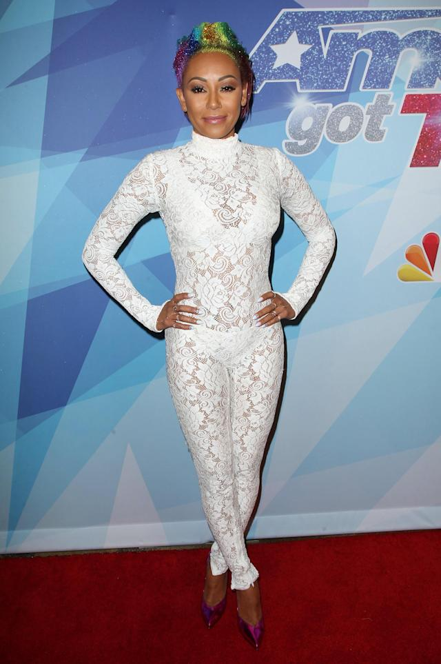 Mel B worked another daring look for <em>America's Got Talen</em>t. (Photo: Getty Images)