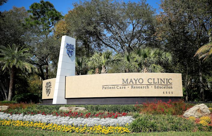 The Jacksonville campus of the Mayo Clinic. (Cliff Hawkins/Getty Images)