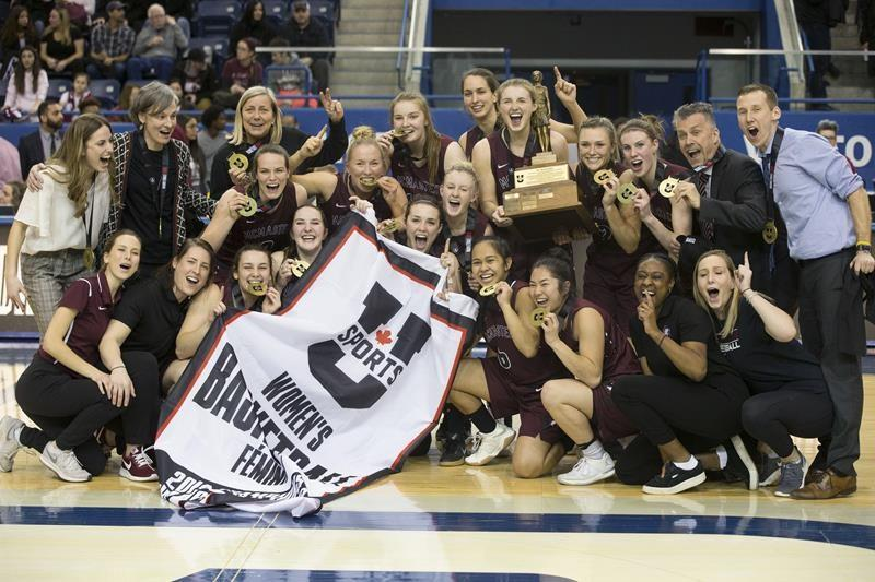 Image result for McMaster's first national championship in women's basketball