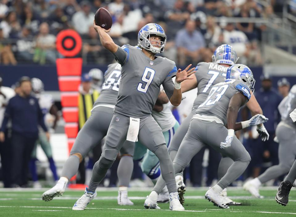 The Lions wore their all-grey get-ups twice in the 2018 season.