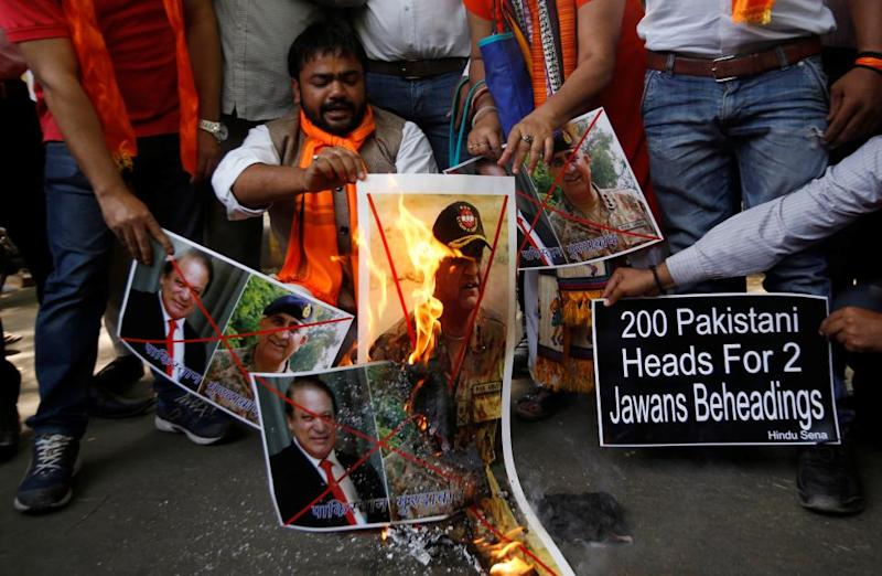 Indian soldiers beheading