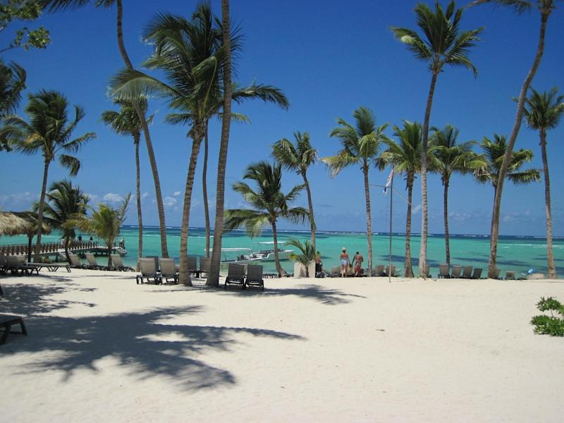 """<a href=""""https://www.tripadvisor.com/Attraction_Review-g3176298-d215733-Reviews-Bavaro_Beach-Bavaro_Punta_Cana_La_Altagracia_Province_Dominican_Republic.html"""" target=""""_blank"""">Bavaro Beach</a> is an extensivewhite-sand beach with plenty of nearby resorts, restaurants and activities to keep tourists plenty busy.<strong><br /><br />Nearby beachfront hotel:</strong><a href=""""https://www.tripadvisor.com/Hotel_Review-g3176298-d584407-Reviews-Ocean_Blue_Sand-Bavaro_Punta_Cana_La_Altagracia_Province_Dominican_Republic.html"""" target=""""_blank"""">Ocean Blue & Sand</a>, from $204 per night"""
