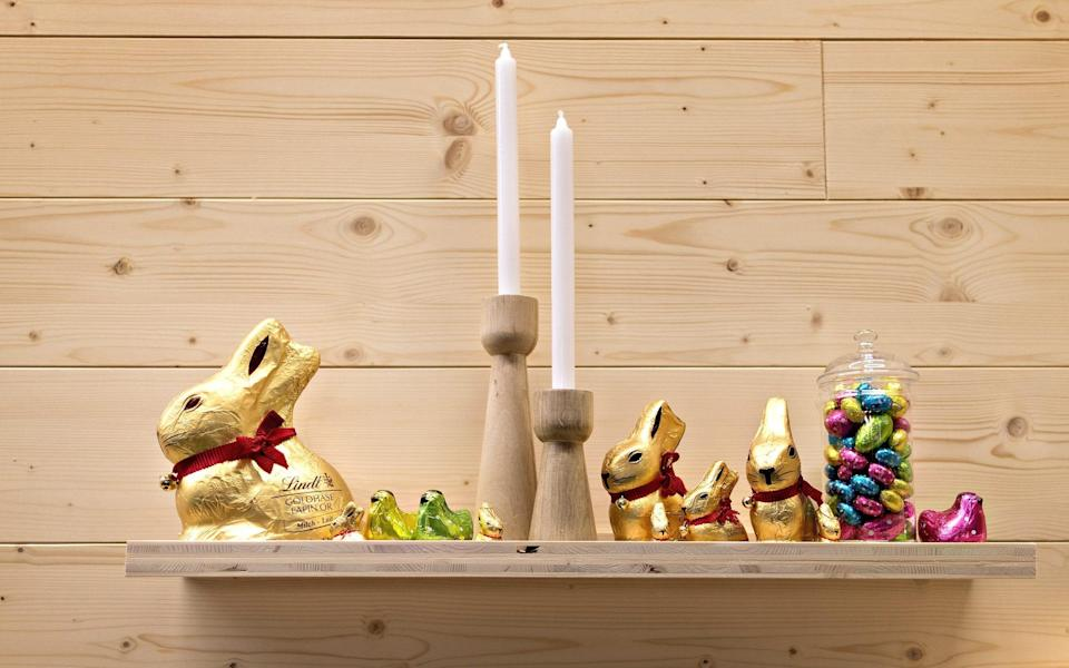 Lindt's rabbits are one of the highest-selling chocolates in Germany - MICHELE LIMINA /Bloomberg