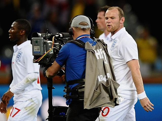 Wayne Rooney slammed England fans after the 2010 World Cup draw against Algeria