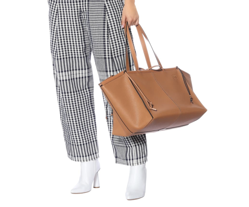Loewe large leather tote. (PHOTO: MyTheresa)