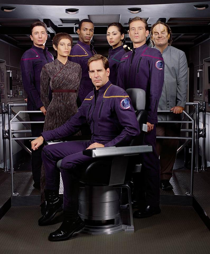 """Before Picard, Kirk or Spock...  there was <a href=""""/enterprise/show/30255"""">""""Enterprise""""</a>  (2001-2005). Set over a hundred years before the original series, this show took things back to the rocky origins of the Star Trek universe, before the establishment of many of the concepts and conventions Trek fans knew and loved.  With Scott Bakula as Jonathan Archer in the Captain's chair, it was an attempt to steer the franchise back to the wonder, mystery and danger of interstellar space exploration."""