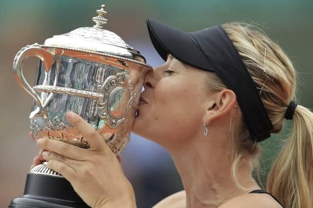 She completed a career Grand Slam with victory at the 2012 French Open when she defeated Sara Errani in the final (Bernat Armangue/AP)