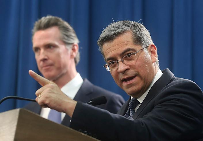 California Attorney General Xavier Becerra is leading the battle to save the Affordable Care Act in a federal appeals court in New Orleans.