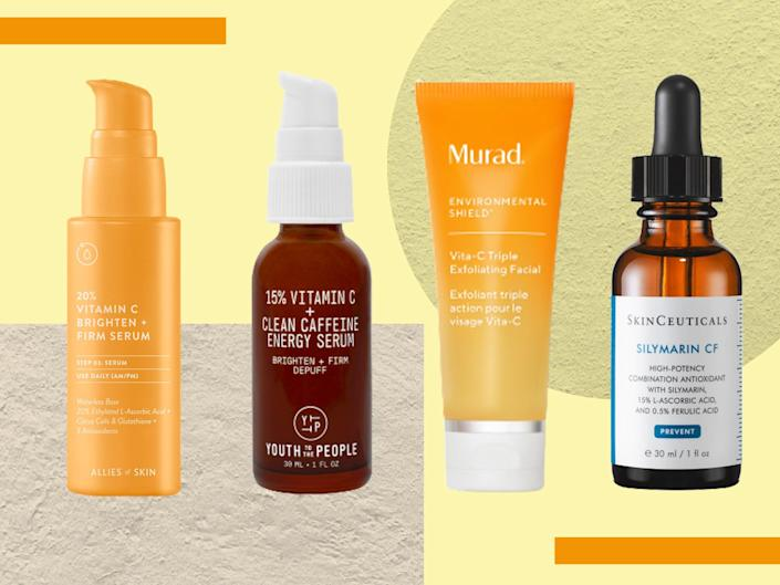 Using vitamin C products along with your daily SPF enhances your levels of sun protection too (iStock/The Independent)