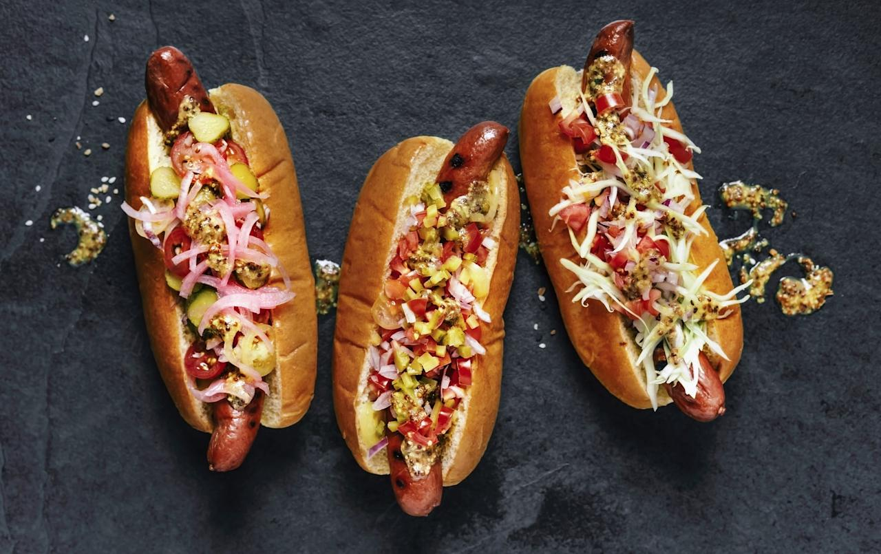 "<p>You've probably already heard the news that <a href=""https://www.popsugar.com/fitness/Zucchini-Hot-Dog-Recipe-40605617"" target=""_blank"" class=""ga-track"" data-ga-category=""internal click"" data-ga-label=""http://www.popsugar.com/fitness/Zucchini-Hot-Dog-Recipe-40605617"" data-ga-action=""body text link"">hotdogs are pretty unhealthy</a> and detrimental for your health-maybe just as bad as cigarettes! So, it should come as no surprise that a link stuffed with saturated fat, cholesterol, and salt can also cause migraines. </p> <p>""Hot dogs contain nitrites, which are preservatives that work to prevent bacteria growth which research has described to trigger migraine attacks,"" Dr. Armand said. ""Furthermore, there are a lot of other foods like cold cuts and processed meats that can bring on a migraine because of their nitrite properties.""</p>"