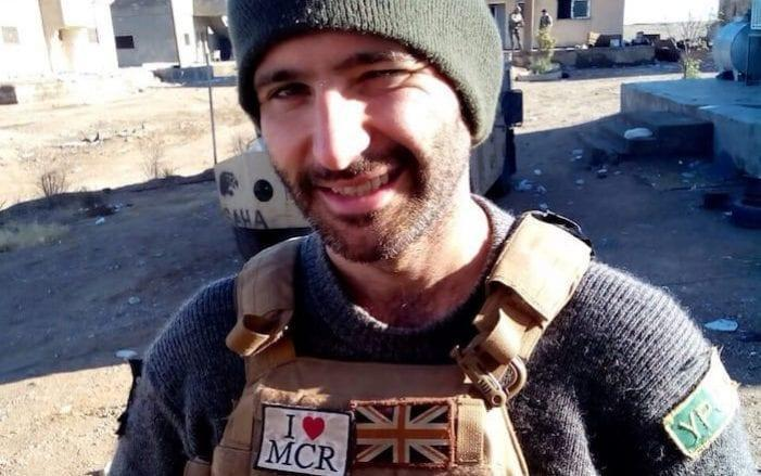 Daniel Burke who fought against Isil was arrested last year