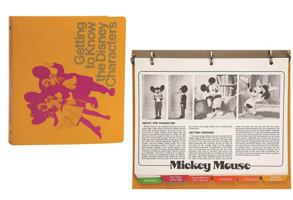 <p>Imagine being a child on your first trip to Disneyland, excited out of your brain to meet Mickey Mouse… and then it turns out that he's an aloof jerk. In order to avoid that nightmare scenario, Disney in the 1970s gave this manual of character descriptions to their costumed employees, so that they could match up to visitors' expectations.<br /></p>