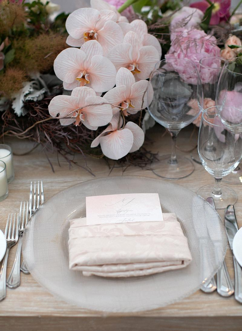 Pastels, soft rustic table settings, and a little bit of magic.