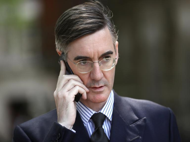 Jacob Rees-Mogg says people should be 'inspected' on Irish border after Brexit as they were 'during the Troubles' (PA)