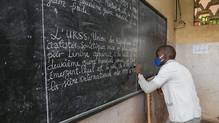 Monday is also the first day back to school for students in Cameroon.