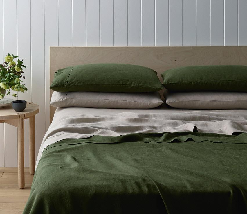 Aldi's eco-friendly hemp bedsheets have sparked Special Buy buzz on social media. Photo: Aldi.