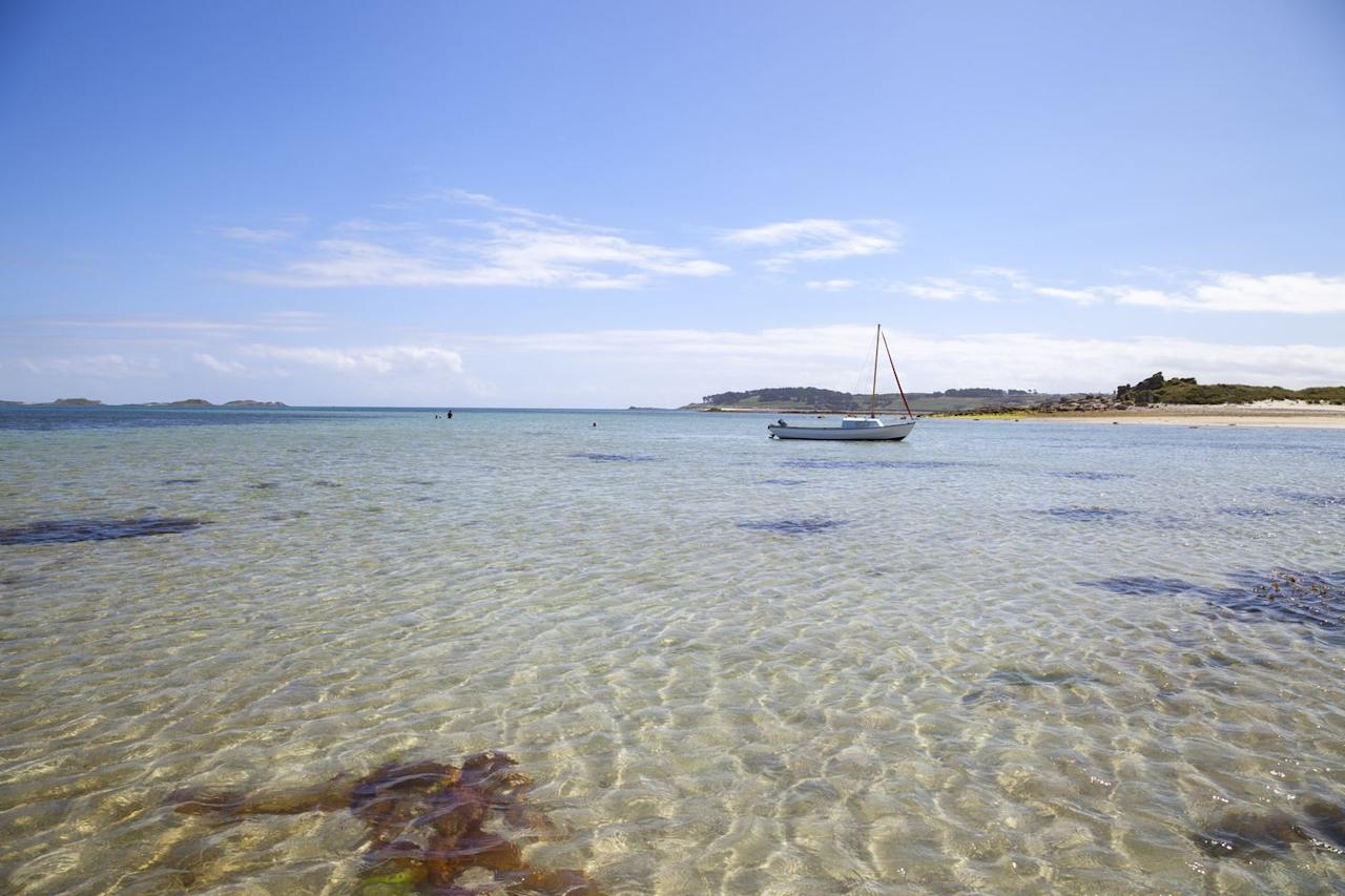 <p>This romantic stretch on the eastern coast of Tresco has been named one of Britain's (and the world's) most beautiful beaches countless times. Its sand dunes and turquoise waters make Pentle Bay a must-see.</p>