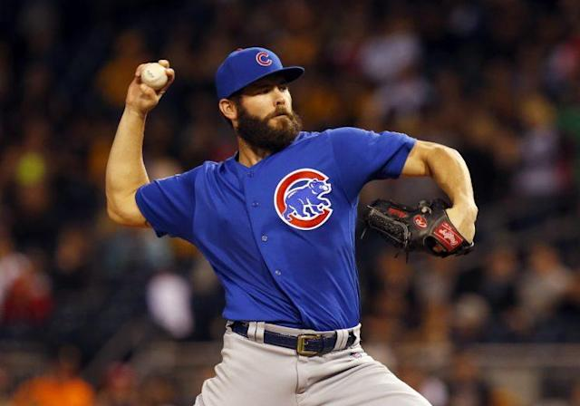 Jake Arrieta is ready to take the Cubs to the World Series. (Getty Images/Justin K. Aller)