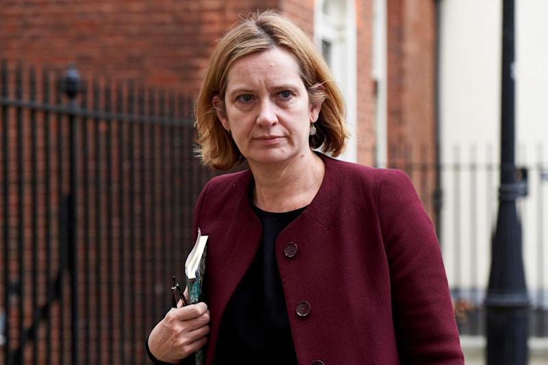Home Secretary Amber Rudd said the app would be 'as easy as setting up an online shopping account' (AFP/Getty Images)