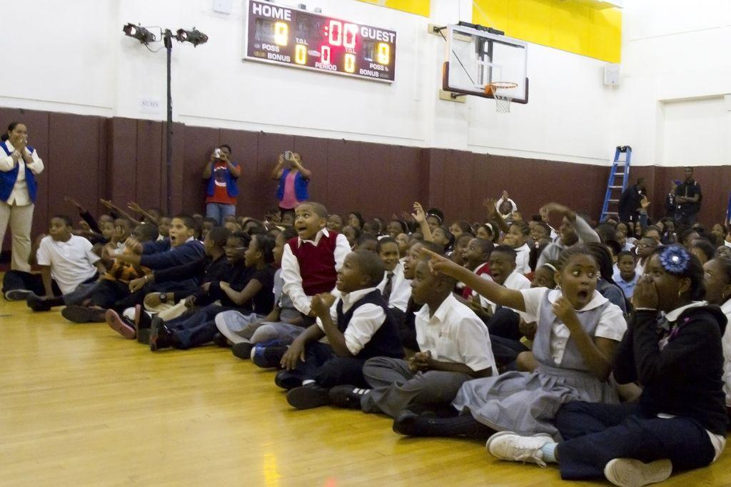 50 Cent Madison Square Boys & Girls Club Credit Jennifer Gonzeles