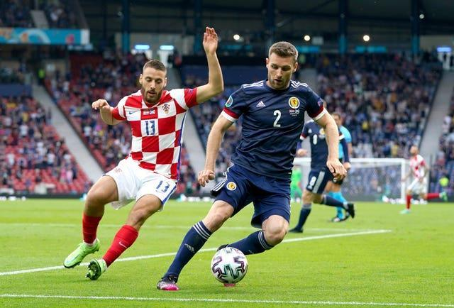 Stephen O'Donnell impressed against England but struggled when up against the Czechs and Croatia
