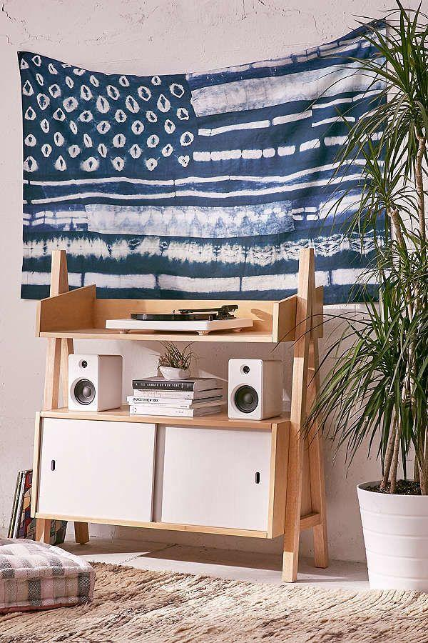 "Get it <a href=""https://www.urbanoutfitters.com/shop/graham-keegan-shibori-flag-tapestry"" target=""_blank"">here</a>."