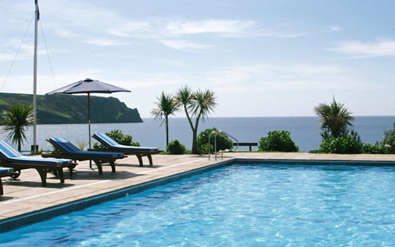 The Nare Hotel, Cornwall - one of Britain's best hotels with outdoor pools