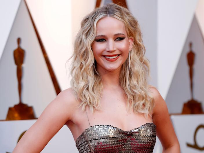 """Actor Jennifer Lawrence was one of many celebrities who had their nude images leaked in an iCloud hacking scandal in September, 2014. <p class=""""copyright"""">Mario Anzuoni/Reuters</p>"""
