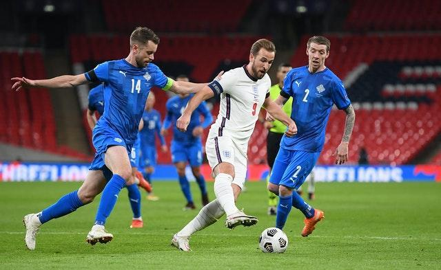 Captain Kane drove England forward at Wembley