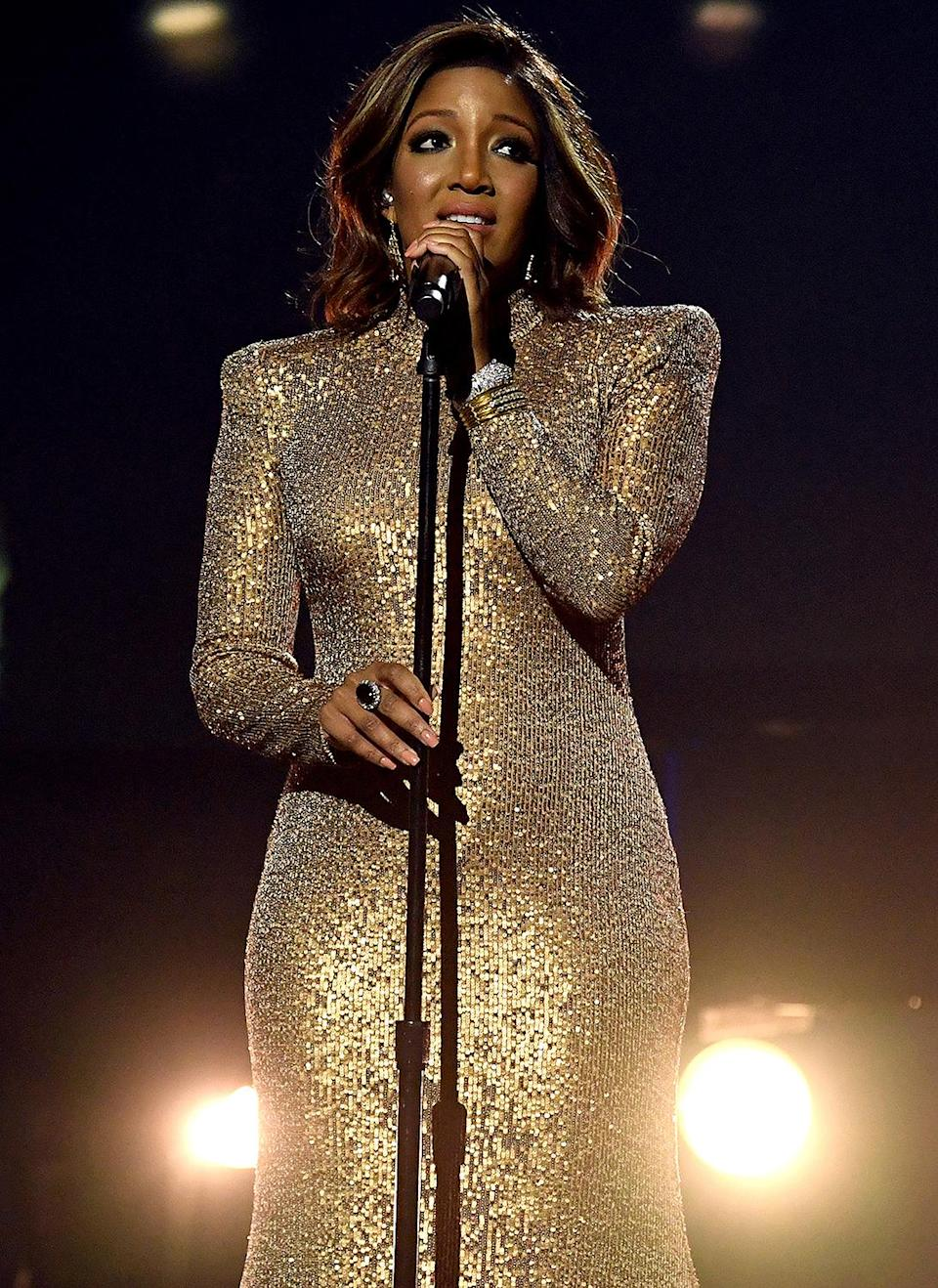 "<p>Mickey Guyton, who's no stranger to breaking barriers in the industry, will once again make history as the first Black artist to co-host the award show, alongside Keith Urban. The ""Black Like Me"" singer, who became the first Black female artist to perform solo at the show last year, spoke to <a href=""https://www.eonline.com/news/1259503/mickey-guyton-shares-how-the-acm-awards-will-address-inclusivity-after-the-morgan-wallen-scandal"" rel=""nofollow noopener"" target=""_blank"" data-ylk=""slk:E! News"" class=""link rapid-noclick-resp""><i>E! News</i></a> about the increased inclusivity being highlighted in this year's show. </p> <p>""I think the topic of inclusivity being addressed is by the award show itself,"" the <a href=""https://people.com/parents/grammys-2021-mickey-guyton-being-mom-greatest-thing-i-will-ever-experience/"" rel=""nofollow noopener"" target=""_blank"" data-ylk=""slk:new mom"" class=""link rapid-noclick-resp"">new mom</a> told the outlet. ""I'm part of the ACM Diversity Task Force ... We started this in 2019 and they have been relentlessly working on diversifying the awards in front of the camera and behind the scenes. And that is showing up on the awards. And I'm just so excited to be a part of that change.""</p>"