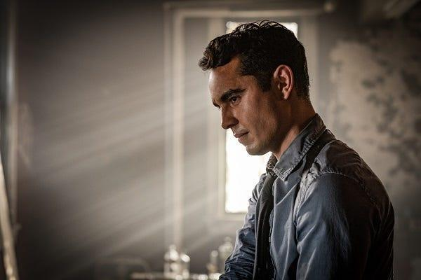 """Max Minghella enjoyed playing an innocent character in """"Spiral."""" While it lasted."""