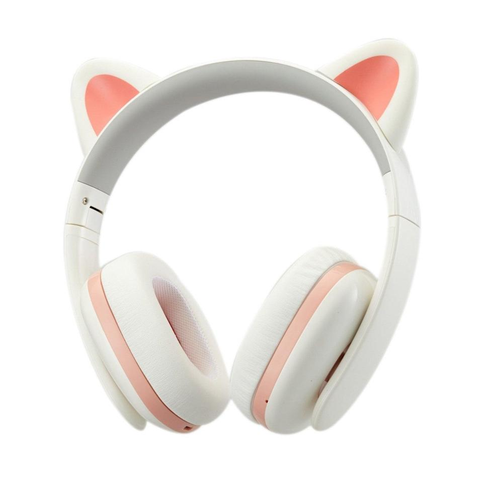 """<p>You can never go wrong gifting a pair of headphones, but these <a href=""""https://www.popsugar.com/buy/Censi-Music-Creative-Cat-Noise-Canceling-Headphones-375118?p_name=Censi%20Music%20Creative%20Cat%20Noise%20Canceling%20Headphones&retailer=amazon.com&pid=375118&price=66&evar1=moms%3Aus&evar9=32519221&evar98=https%3A%2F%2Fwww.popsugar.com%2Ffamily%2Fphoto-gallery%2F32519221%2Fimage%2F39115981%2FCensi-Music-Creative-Cat-Noise-Canceling-Headphones&list1=gifts%2Choliday%2Cgift%20guide%2Cgifts%20for%20kids%2Ckid%20shopping%2Ctweens%20and%20teens%2Choliday%20for%20kids%2Cgifts%20for%20teens&prop13=api&pdata=1"""" class=""""link rapid-noclick-resp"""" rel=""""nofollow noopener"""" target=""""_blank"""" data-ylk=""""slk:Censi Music Creative Cat Noise Canceling Headphones"""">Censi Music Creative Cat Noise Canceling Headphones</a> ($66) are extraspecial since they double as an adorable accessory.</p>"""