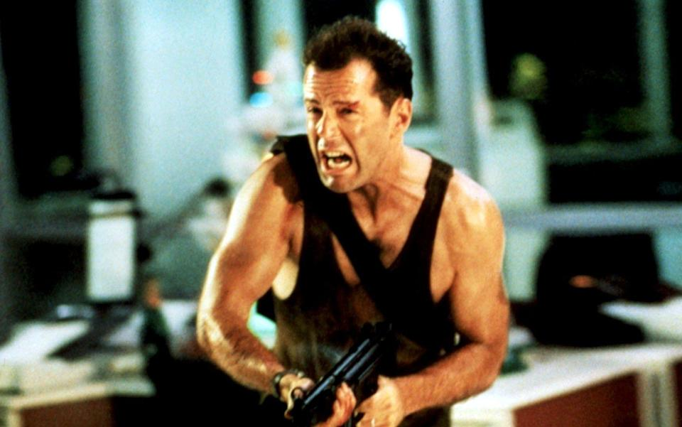 Bruce Willis's John McClane was the archetypal Eighties action hero with a short, manly name - c.20thC.Fox/Everett / Rex Features