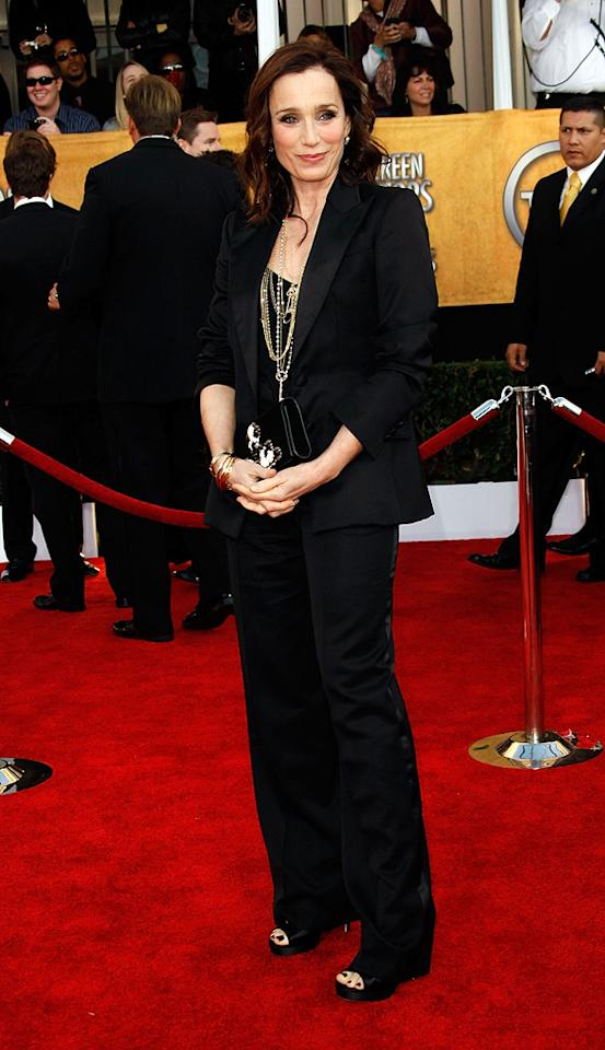 BEST: Kristen Scott Thomas at the 15th Annual Screen Actors Guild Awards in Los Angeles - 01/25/2009