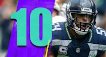 <p>Bobby Wagner's line on Sunday: 12 tackles, one sack, one interception, two passes defensed, a forced fumble, a fumble recovery and a touchdown. He's pretty good. (Bobby Wagner) </p>