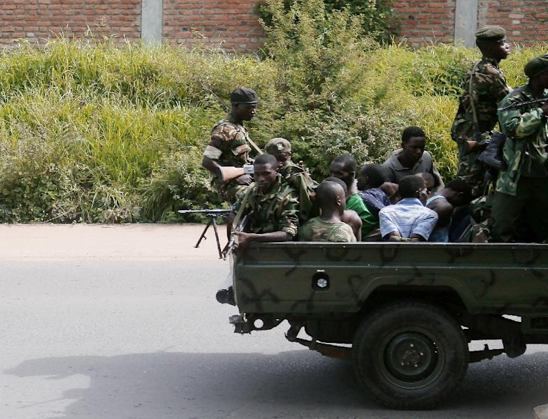 Between 500 and 2,000 people have been killed in violence in Burundi since 2015, according to sources such as the United Nations and non-governmental organisations (AFP Photo/STRINGER)