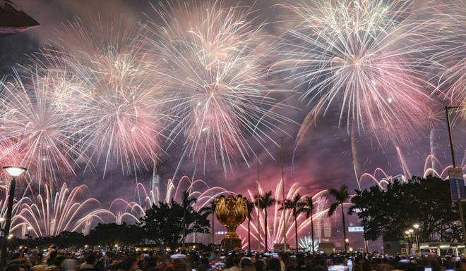 There will be no new year fireworks in Hong Kong this year. Photo: Felix Wong