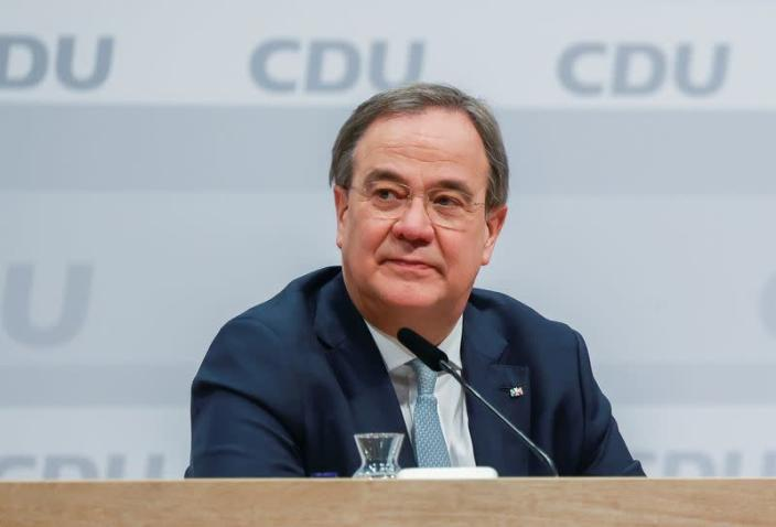 CDU party elects its new leader in Berlin