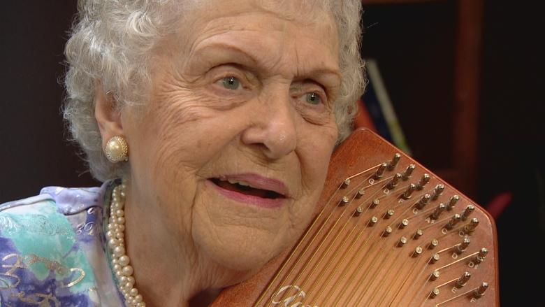 This 92-year-old opera singer's motto is 'keep singing' and she has no plans to stop