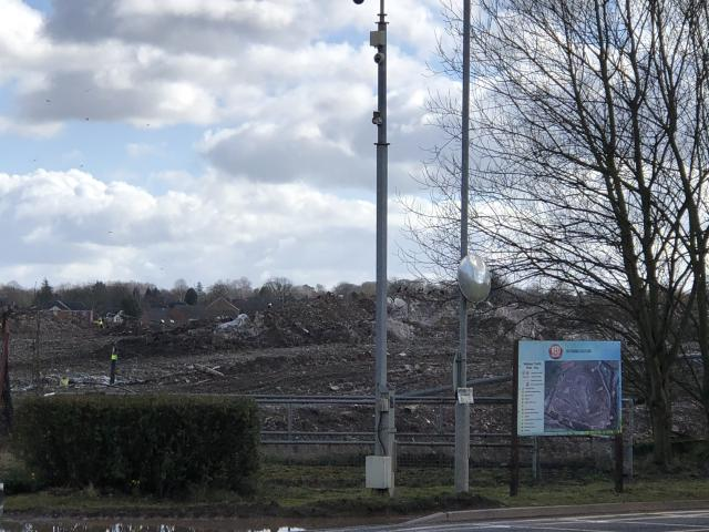 Red Industries owns the landfill site, which was formerly a clay extraction quarry. (James Morris)
