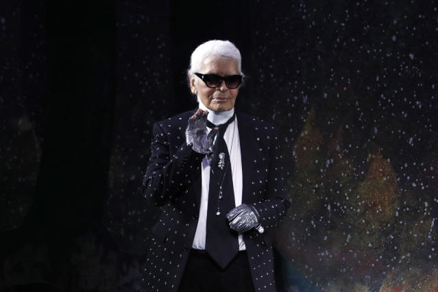 acb205b2 The Chanel, Fendi and Karl Lagerfeld fashion houses are organizing a  memorial event celebrating the