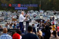 Democratic U.S. presidential nominee Biden campaigns in Georgia