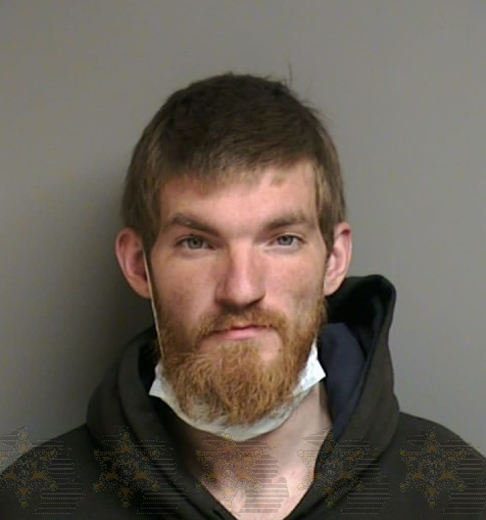 Matthew David Hughes is suspected of home invasion. (Photo: Macomb County Sheriff's Office)