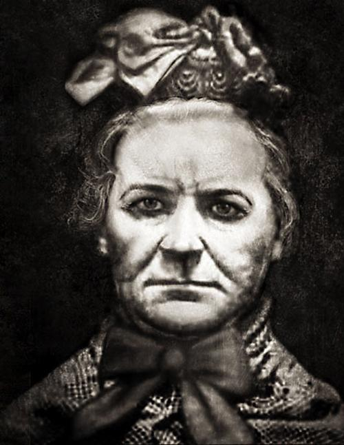 <p>A shocking report from the 'Illustrated Police News' features a sketch of Amelia Dyer. She is believed to have murdered 400 babies. She would strangle the poor children with a ribbon and throw them into the Thames. Her horrific crimes went undetected for 16 years until she was caught and hanged in 1896 (Wikipedia)</p>